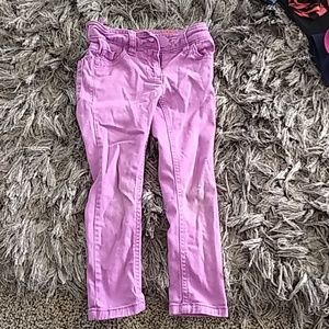 Next Girls jeans purple